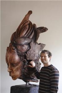 sculpture, plaster,mythology