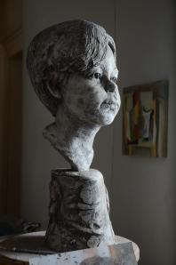 Portrait sculpture