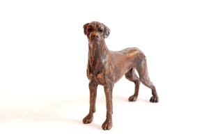 Ridgeback bronze, sculpture