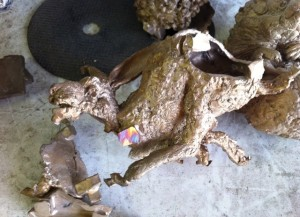 Bronze sculpture, bronze process,Cire Perdu