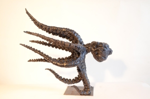 Wax Octopus,Octopus sculpture