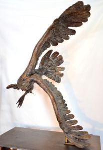 Fish Eagle,bronze,Stephen Rautenbach