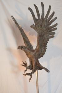 Bronze eagle,eagle statue,black eagle sculpture