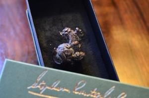 bronze Japanese netsuke, Stephen Rautenbach,bronze, miniature sculpture