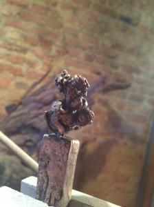 Leopard, miniature,bronze,stephen rautenbach