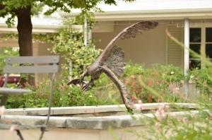 Fish Eagle statue, Trout sculpture