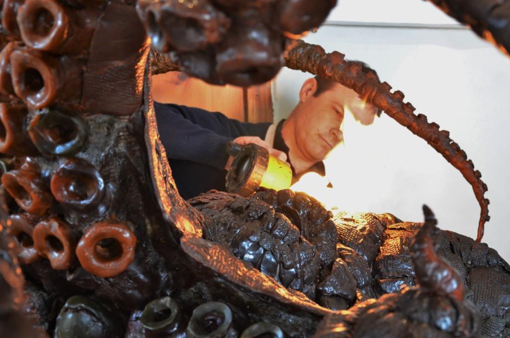 Octopus, Giant octopus,octopus sculpture