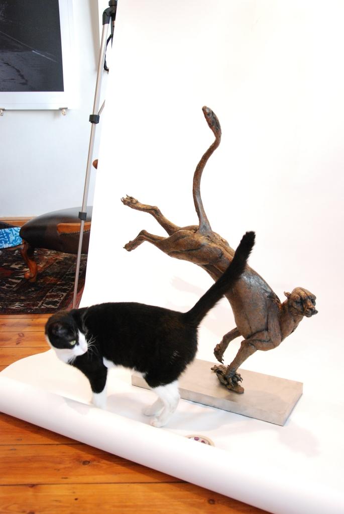 Cheetah,bronze cheetah,cheetah sculpture